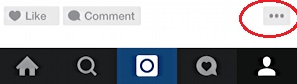 3 dots, instagram untag